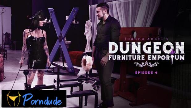 Joanna Angel's Dungeon Furniture Emporium – Episode 4 - Burning Angel - Joanna Angel