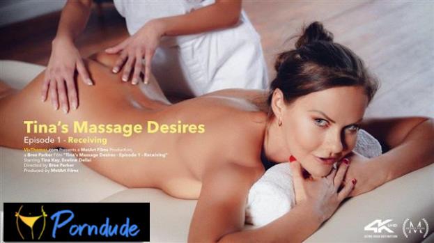 Tina's Massage Desires Part 1: Receiving - Viv Thomas - Eveline Dellai And Tina Kay