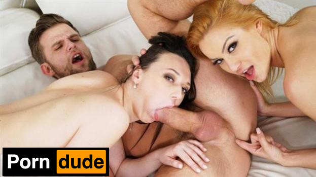 Three Is A Couple - Girls Rimming - Cherry Kiss And Isabella Della