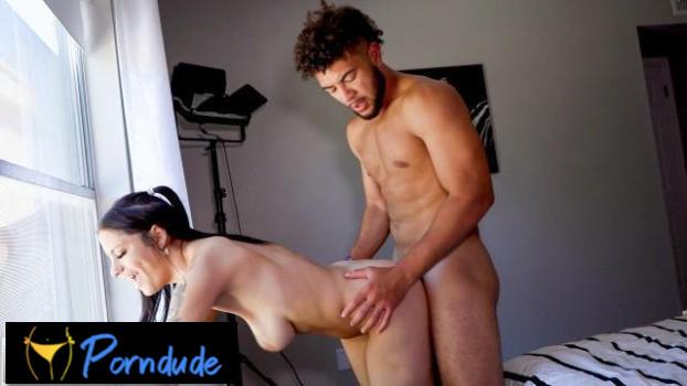 Athletic Cayden Stuart Loves The Body On Sexy Melody Foxx - Hot Guys Fuck - Melody Foxx