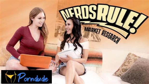 Nerds Rule: Market Research - Girls Way - Skylar Snow And Jada Kai