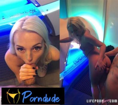 Story 2 Super Hot Solarium - Life Porn Stories - Lovita Fate
