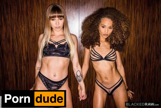 Huge Surprise - Blacked Raw - Naomi Swann And Cecilia Lion