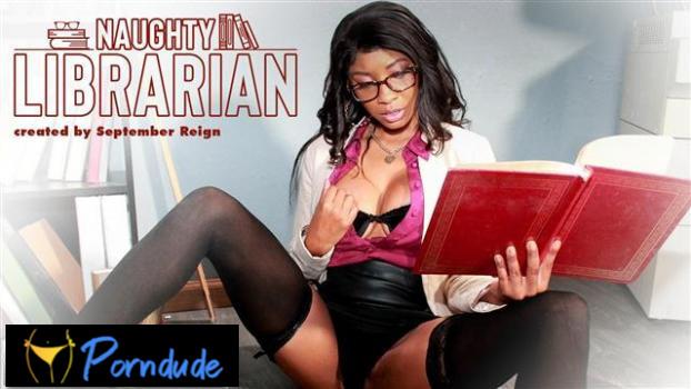Naughty Librarian - Model Time - September Reign