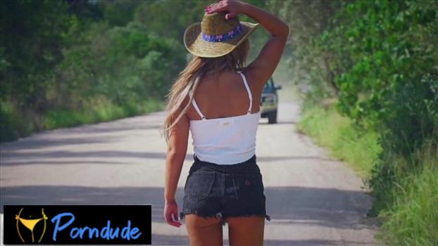 Hitchhiker Fucked Outdoors - Lukes POV - Nina Milano