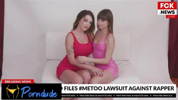 Riley Reid & Gabbie Carter Get Casted In A Dirty Porno Scandal - Bang Fake News - Riley Reid And Gabbie Carter
