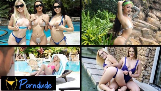 Bikini Babes - Team Skeet Selects - Alessia Luna, Paisley Paige, Jenna Foxx And Gina Valentina