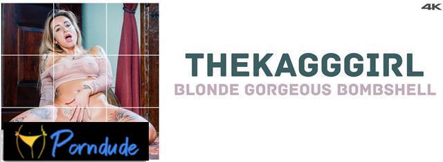Blonde Gorgeous Bombshell - Fitting-Room - TheKaGGGirl