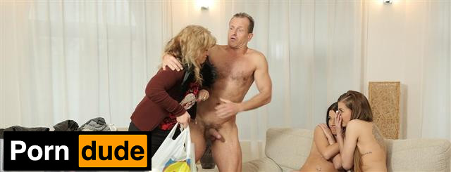 Mom's Two Daughters Getting Naughty In Her Property - Daddy 4K - Eveline Dellai And Silvia Dellai