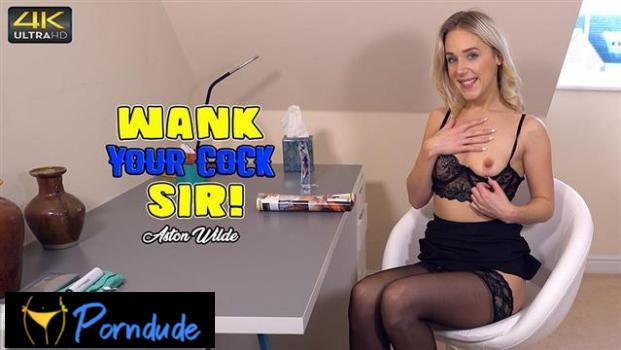 Wank Your Cock Sir - Wank It Now - Aston Wilde