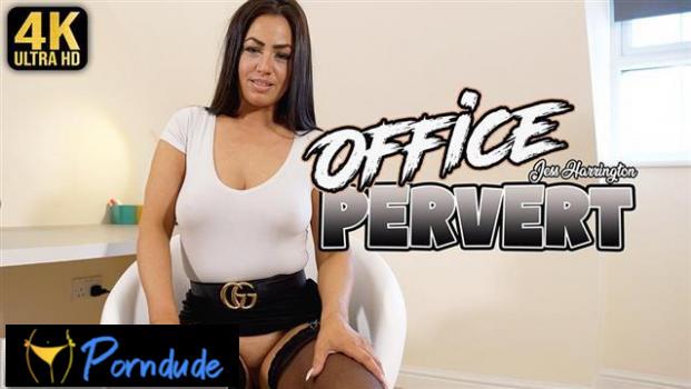 Office Pervert - Upskir tJerk - Jess Harrington