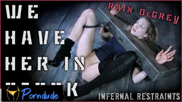 We Have Her In Stock - Infernal Restraints - Rain Degrey