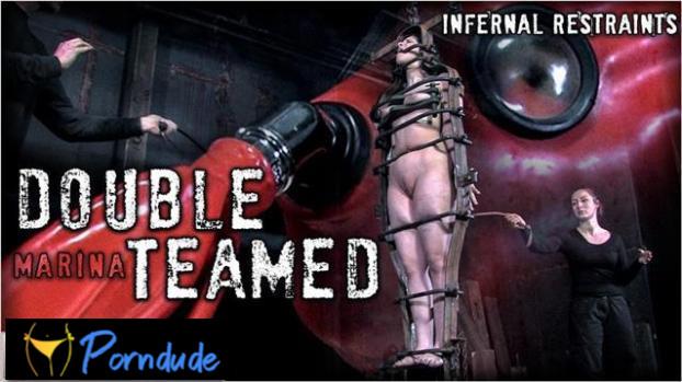 Double Teamed - Infernal Restraints - Marina
