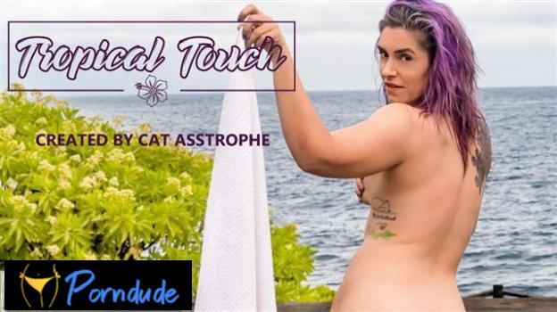 Tropical Touch - Model Time - Cat Asstrophe