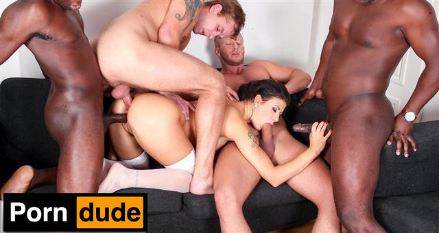 Group Sex Games – Billie Star - Group Sex Games - This Milf Wants More Cock