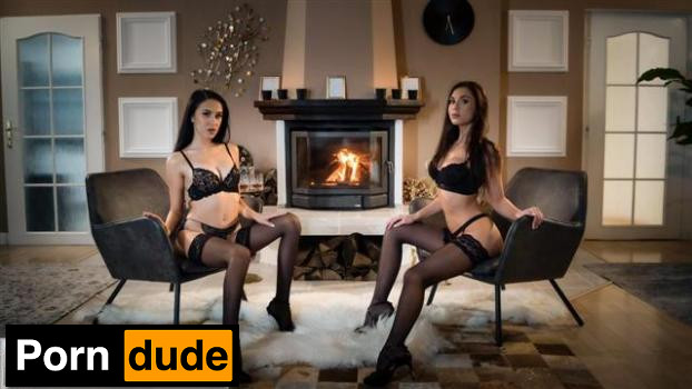 Lustful Brunettes Sultry Seduction - Lesbea - Sabrisse And Alyssa Bounty