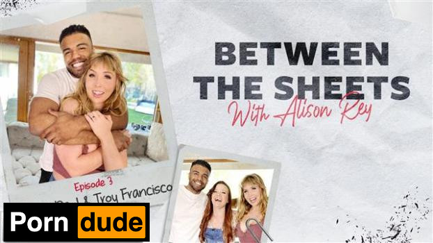 Between The Sheets With Alison Rey: Lena Paul & Troy Francisco - Adult Time - Lena Paul