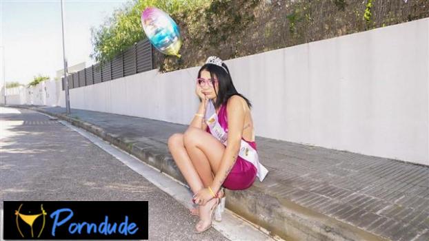 Brazen Birthday Girl - Public Pickups - Kitty Love