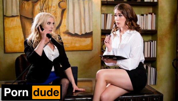 Quit Slacking Off - Girls Way - Christie Stevens And Evelyn Claire