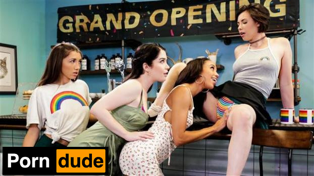 Grand Opening - Girls Way - Casey Calvert, Evelyn Claire, Maya Woulfe And Alexis Tae