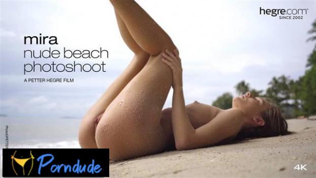Nude Beach Photo Shoot - Hegre - Mira